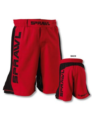 Sprawl Gripflex Red Shorts