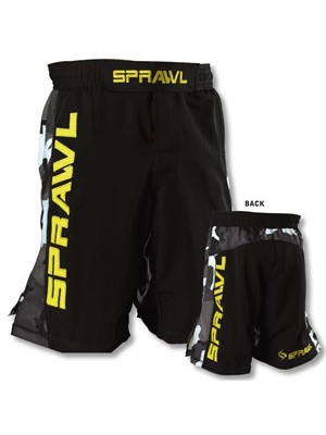 Sprawl Gripflex Shorts Black/Camo