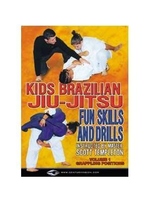 Templeton Kids Brazilian Jiu Jitsu Fun Skills and Drills Titles