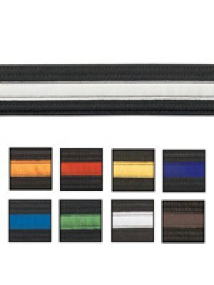 Striped Black Belts