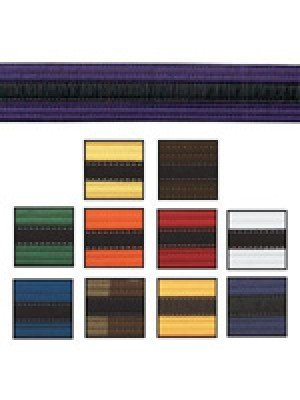 Black Stripe Belts