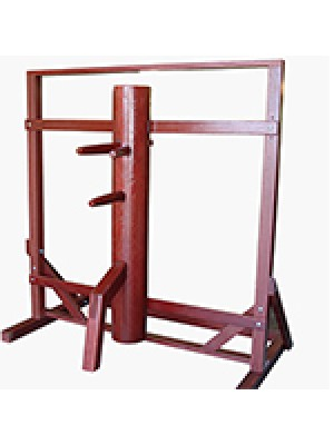 Frame Mounted Wing Chun Wooden Dummy