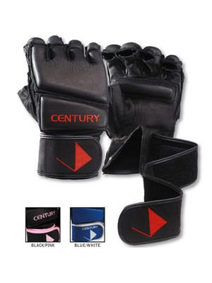 Century Leather Wrap Gloves