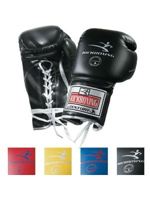 Kickboxing Lace Up Training Gloves