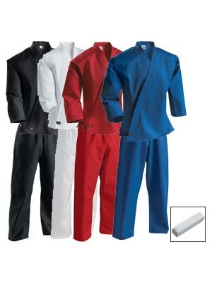 7.25 oz Middleweight Student Uniform with Elastic Pant