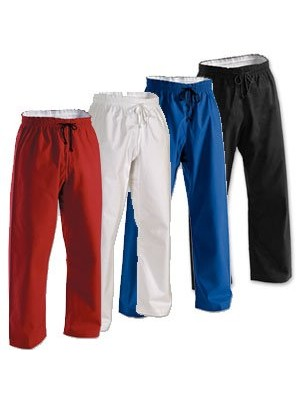 8 oz Middleweight Brushed Cotton Elastic Waist Pant