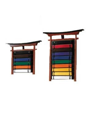 Wall Mountable 10 Level Belt Display