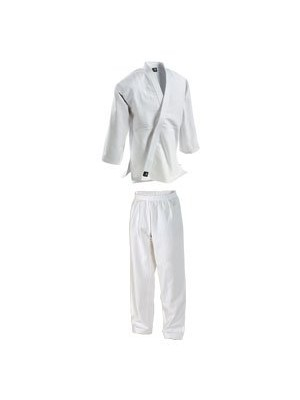 Single Weave Student Judo Uniform with Elastic Waist