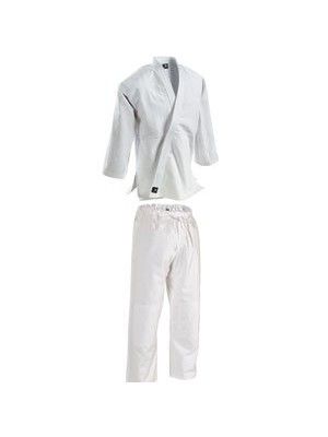 Single Weave Student Judo Uniform with Drawstring Waist