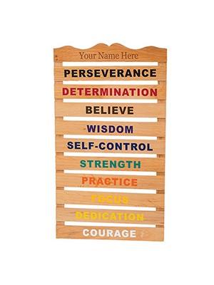 Motivational Belt Display